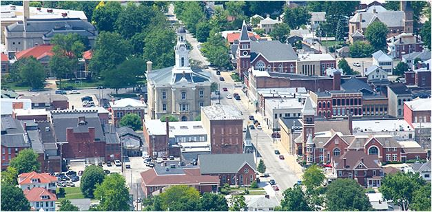 aerial picture of Greenville